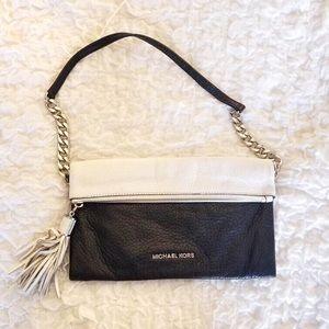 Michael Kors Black & White Shoulder Bag